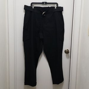 Pants - Black Cargo Pants
